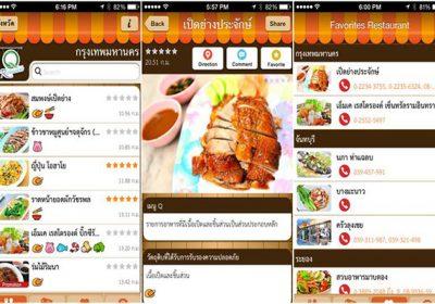แนะนำเว็บไซต์หรือแอพค้นหาร้านอาหารที่น่าสนใจ